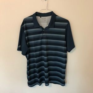 Blue Adidas polo